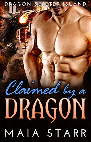 Book Cover of Claimed By A Dragon (Dragon Shifter Island)