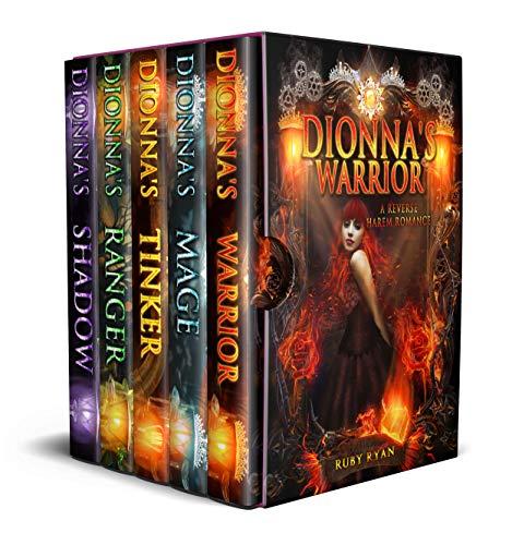 Book Cover of Dragon Origins Complete Box Set: A Reverse Harem Romance