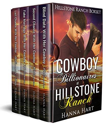 Book Cover of Cowboy Billionaires At Hillstone Ranch (Hillstone Ranch Boxset)