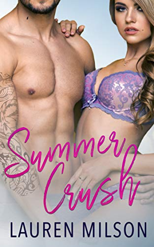 Book Cover of Summer Crush: A Steamy Older Man Younger Woman Romance
