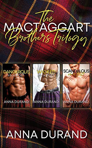 Book Cover of The MacTaggart Brothers Trilogy: Hot Scots, Books 1-3