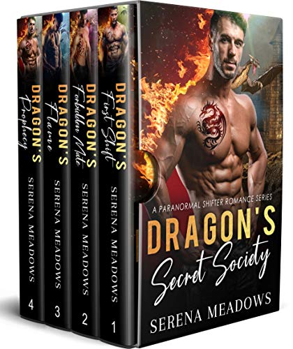 Book Cover of Dragon's Secret Society: (A Paranormal Shifter Romance Series)