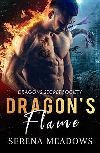 Book Cover of Dragon's Flame: Dragons Secret Society
