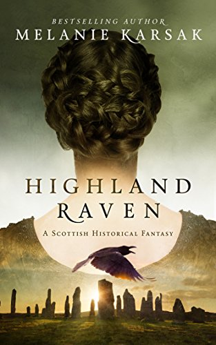 Book Cover of Highland Raven (The Celtic Blood Series Book 1)