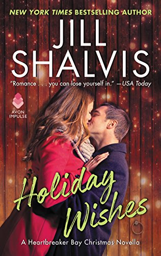 Book Cover of Holiday Wishes: A Heartbreaker Bay Christmas Novella (Kindle Single)