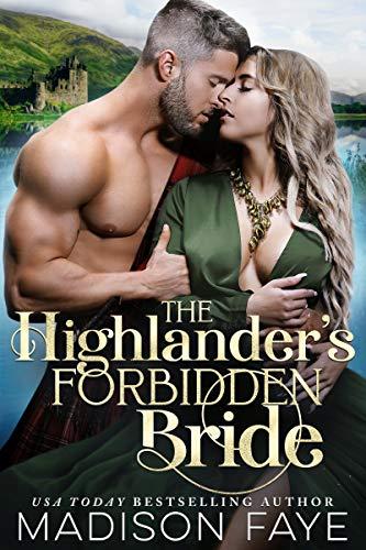 Book Cover of The Highlander's Forbidden Bride