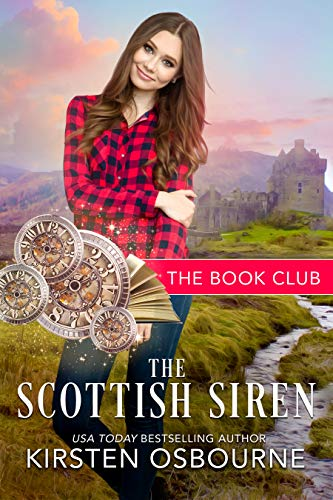 Book Cover of The Scottish Siren: A McClain Story (The Book Club 1)