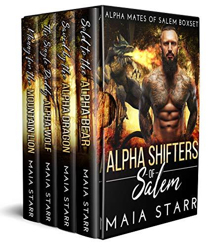 Book Cover of Alpha Shifters Of Salem (Alpha Mates Of Salem Boxset)