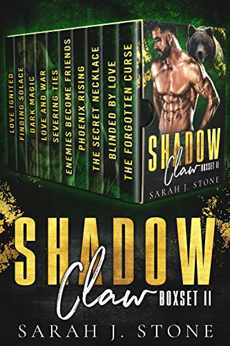 Book Cover of Shadow Claw Box Set (Volume II)