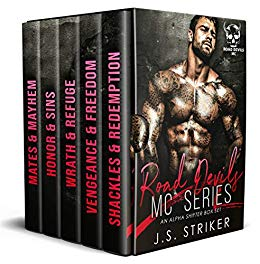 Book Cover of Road Devils MC Series: An Alpha Shifter Box Set