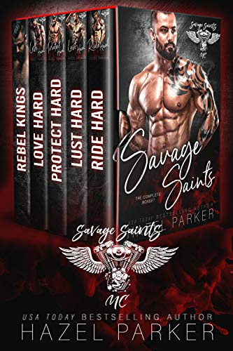 Book Cover of Savage Saints MC Series: The Complete Box Set