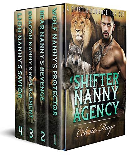 Book Cover of Shifter Nanny Agency : (A Shifter Romance Box Set)
