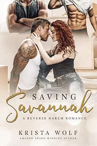 Book Cover of Saving Savannah - A Reverse Harem Romance
