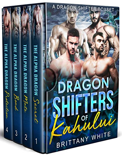 Book Cover of Dragon Shifters of Kahului: A Dragon Shifter Boxset