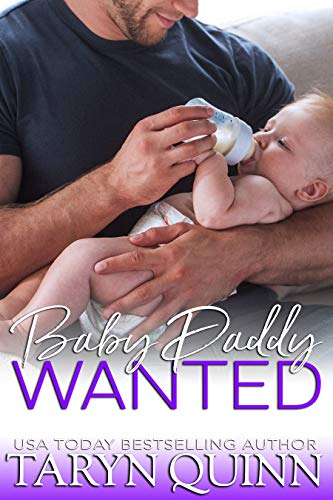Book Cover of Baby Daddy Wanted (Crescent Cove Book 5)