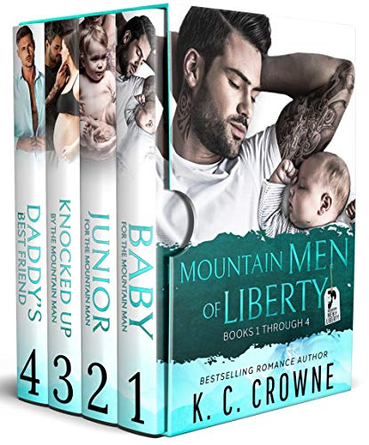 Book Cover of Mountain Men of Liberty: A Contemporary Romance Box Set