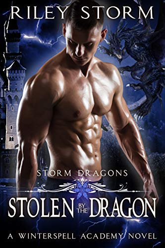 Book Cover of Stolen by the Dragon (Storm Dragons Book 1)