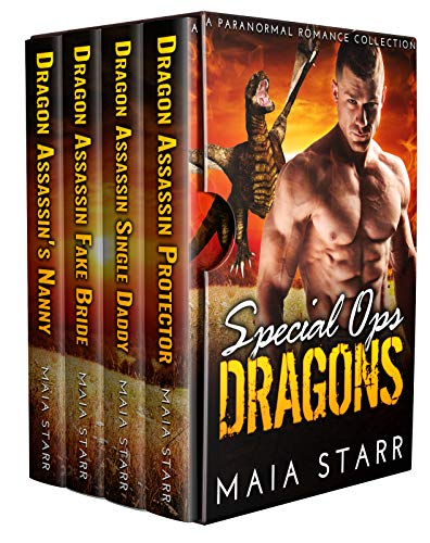 Book Cover of Special Ops Dragons: A Paranormal Romance Collection