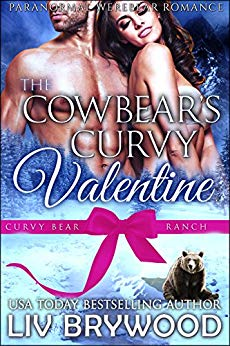 Book Cover of The Cowbear's Curvy Valentine (Curvy Bear Ranch Book 5)