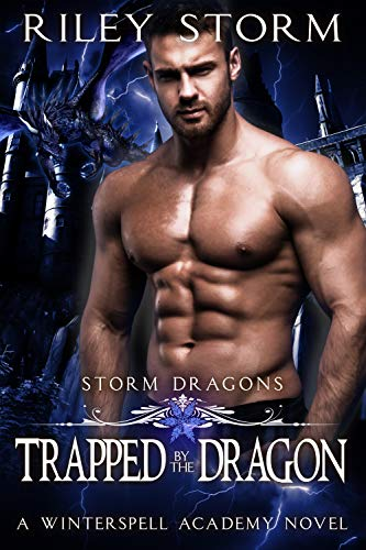 Book Cover of Trapped by the Dragon (Storm Dragons Book 2)