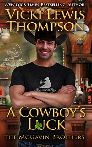 Book Cover of A Cowboy's Luck (The McGavin Brothers Book 8)
