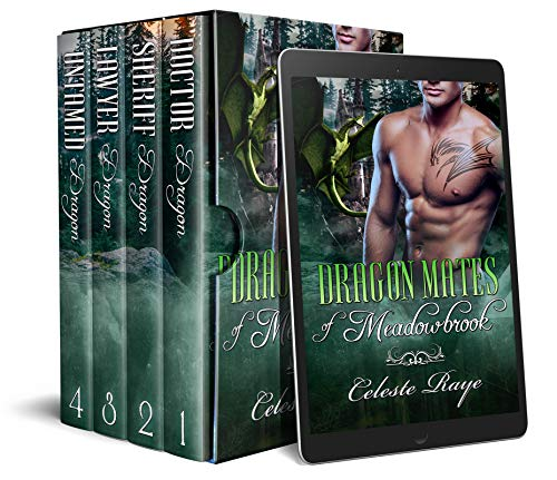Book Cover of Dragon Mates of Meadowbrook: (A Dragon Shifter Romance)