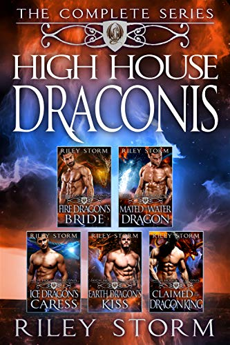 Book Cover of High House Draconis: The Complete Dragon Shifter Box Set