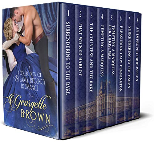Book Cover of Georgette Brown Boxset: A Collection of Steamy Regency Romance