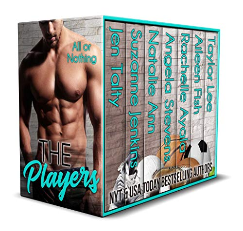 Book Cover of The Players - All Or Nothing (Sports Romance Book 2)