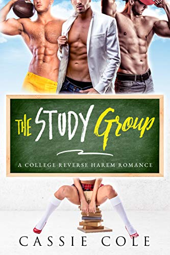 Book Cover of The Study Group: A College Reverse Harem Romance