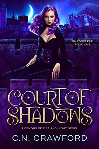Book Cover of Court of Shadows (Shadow Fae Book 1)