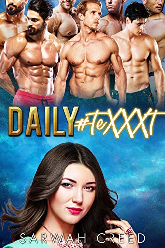 Book Cover of Daily #teXXXt: A Reverse Harem Bully Romance (The FlirtChat Book 1)