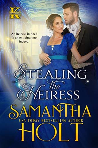 Book Cover of Stealing the Heiress (The Kidnap Club Book 2)