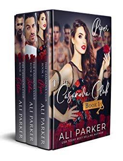 Book Cover of The Casanova Club Box Set: Books 1-3