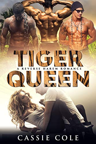 Book Cover of Tiger Queen: A Reverse Harem Romance