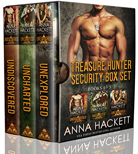 Book Cover of Treasure Hunter Security Box Set: Books 1-3