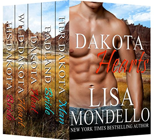 Book Cover of Dakota Hearts (Boxed Set Books 1-5): Contemporary Western Romance