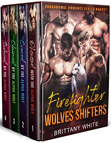 Book Cover of Firefighter Wolves Shifters (A Paranormal Romance Series Boxset)