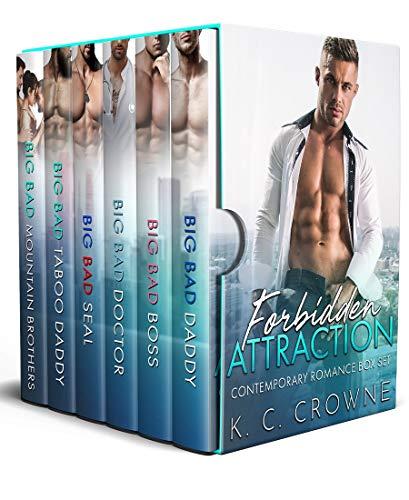 Book Cover of Forbidden Attraction: A Contemporary Romance Box Set