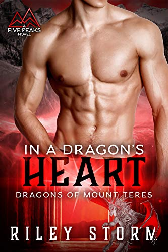 Book Cover of In a Dragon's Heart (Dragons of Mount Teres Book 2)