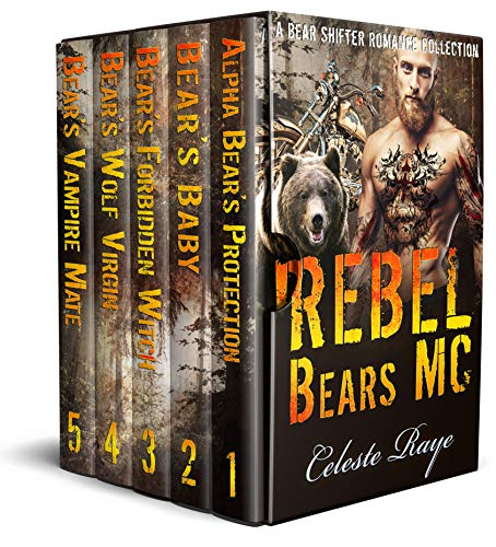 Book Cover of Rebel Bears MC: (A Bear Shifter Romance Collection)