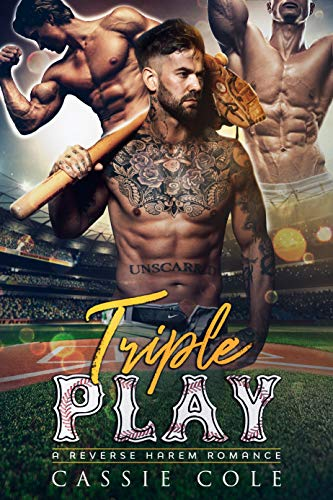 Book Cover of Triple Play: A Sports Reverse Harem Romance