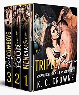 Book Cover of Triple Team: Reverse Harem Series Box Set