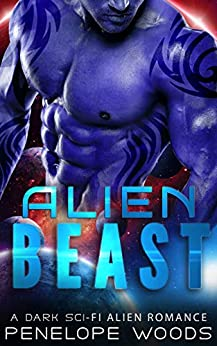 Book Cover of Alien Beast: A Sci-Fi Alien Romance