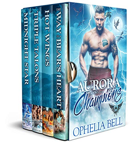 Book Cover of Aurora Champions Box Set: Paranormal Dating Agency