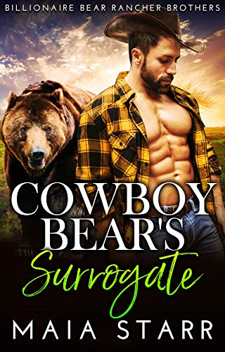 Book Cover of Cowboy Bear's Surrogate (Billionaire Bear Rancher Brothers Book 5)