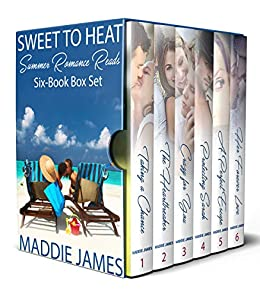 Book Cover of Sweet to Heat Summer Romance Reads: Six-Book Box Set