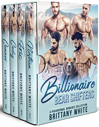 Book Cover of Billionaire Bear Shifters: A Paranormal Romance Complete Series Boxset
