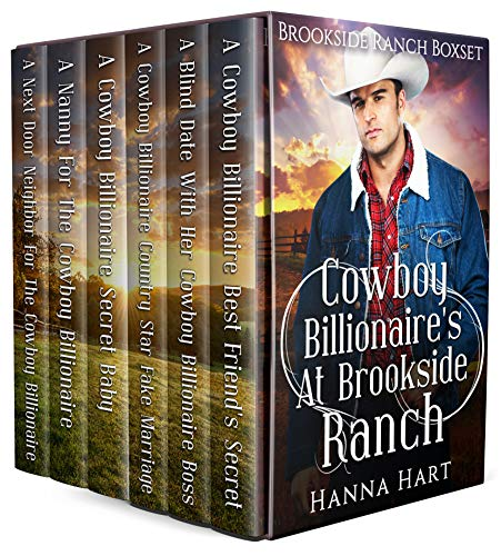 Book Cover of Cowboy Billionaires At Brookside Ranch (Brookside Ranch Boxset)
