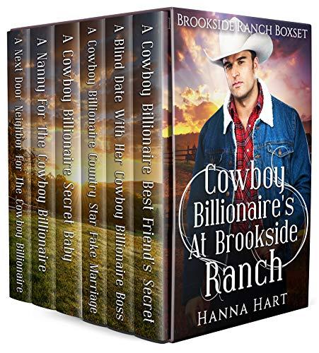 Book Cover of Cowboy Billionaires At Brookside Ranch (Brookside Ranch Boxset)